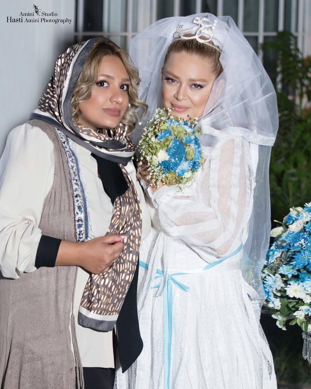 عکس عروسی بهاره رهنما و همسرش
